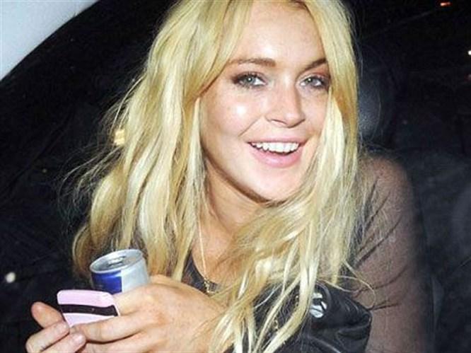 Lindsay Lohan'a garsondan tokat